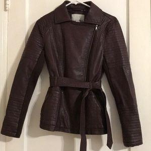 Bar iii maroon jacket